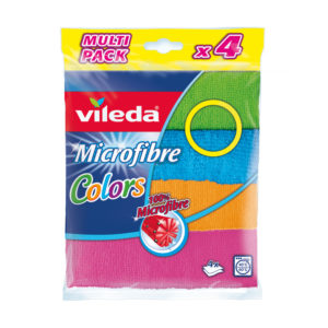 Lavettes Multi-usages Microfibre Colors Vileda