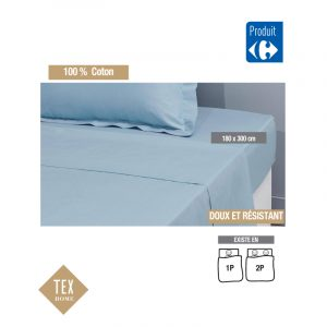 Drap plat TEX HOME