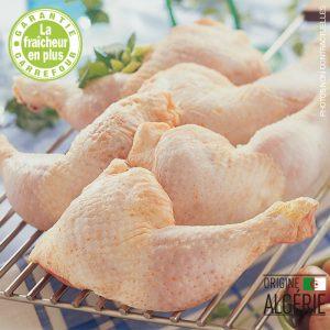 Cuisses de poulet frais