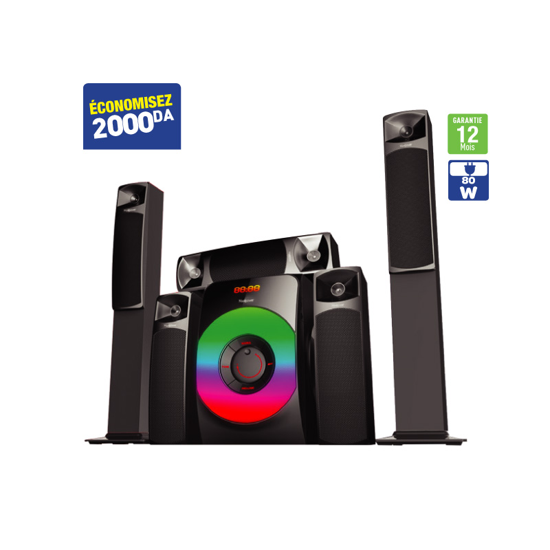 HOME THEATRE HSP5.1 MAXIPOWER