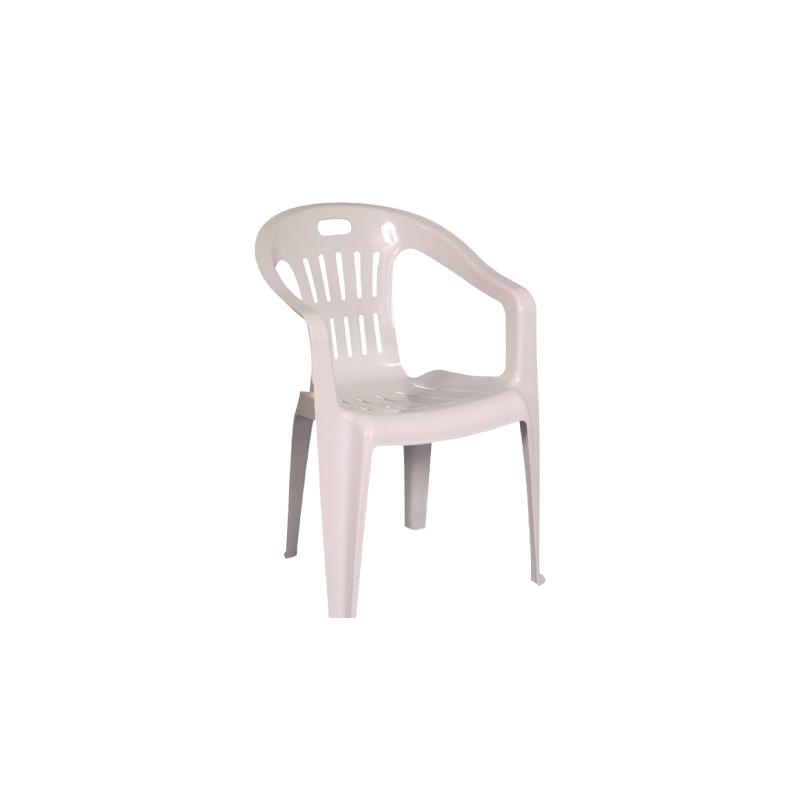 Chaise avec accoudoir HALAMETAPLAST