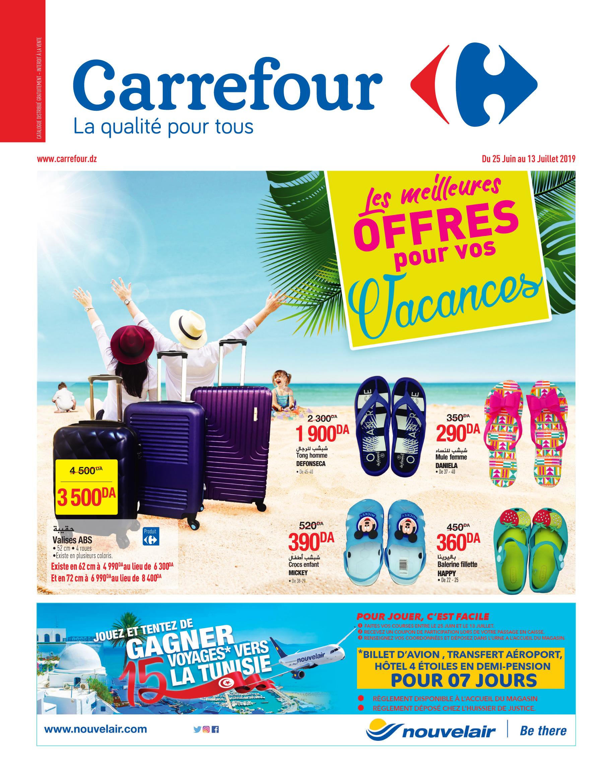 Catalogue Départ en vacances