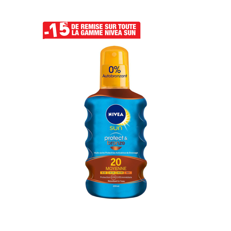 spray Huile Protect & Bronze NIVEA SUN