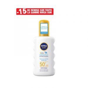 Spray Solaire Pure Sensitive Pour Enfants NIVEA SUN