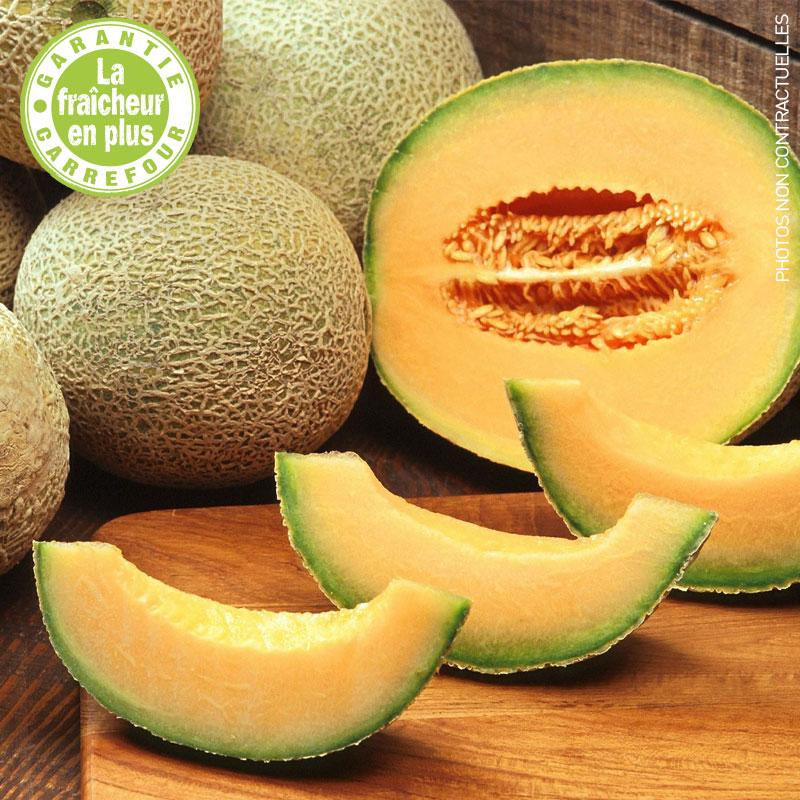 Melon brodé