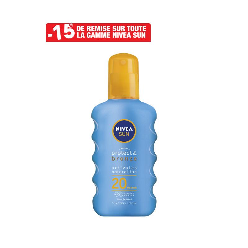 Spray Protect & Bronze NIVEA SUN