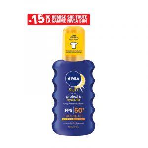 Crème solaire hydratante SPF 50 NIVEA SUN
