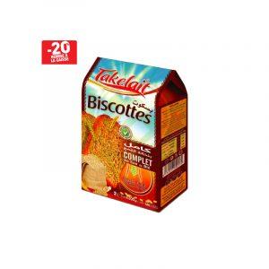 Biscottes de blé complet TAKELAIT
