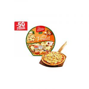Pizza au poulet FRICHKA