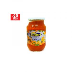 Confiture d'abricot SABRI