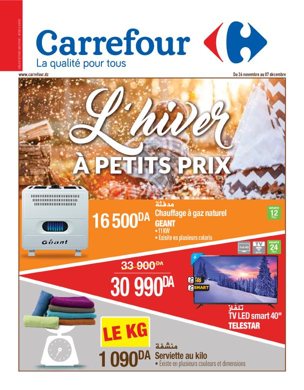 Catalogue L'Hiver à petits prix