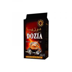 Café moulu Robusta DOZIA