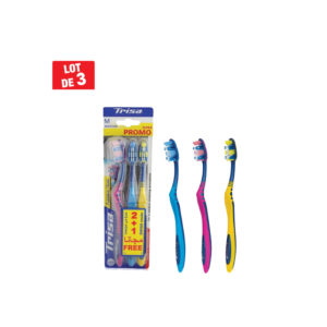 Brosse a dents FLEXIBLE HEAD TRISA