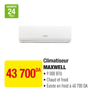 Climatiseur MAXWELL