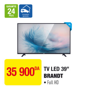 "TV LED 39"" BRANDT"