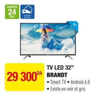 """TV LED SMART 32"""" BRANDT"""