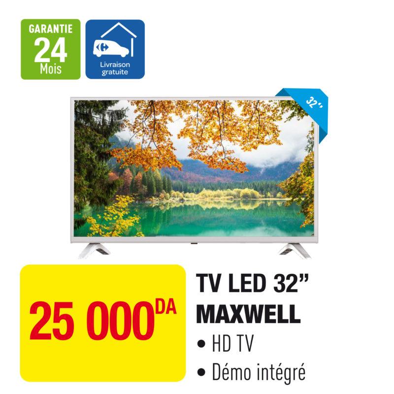 "TV LED 32"" MAXWELL"