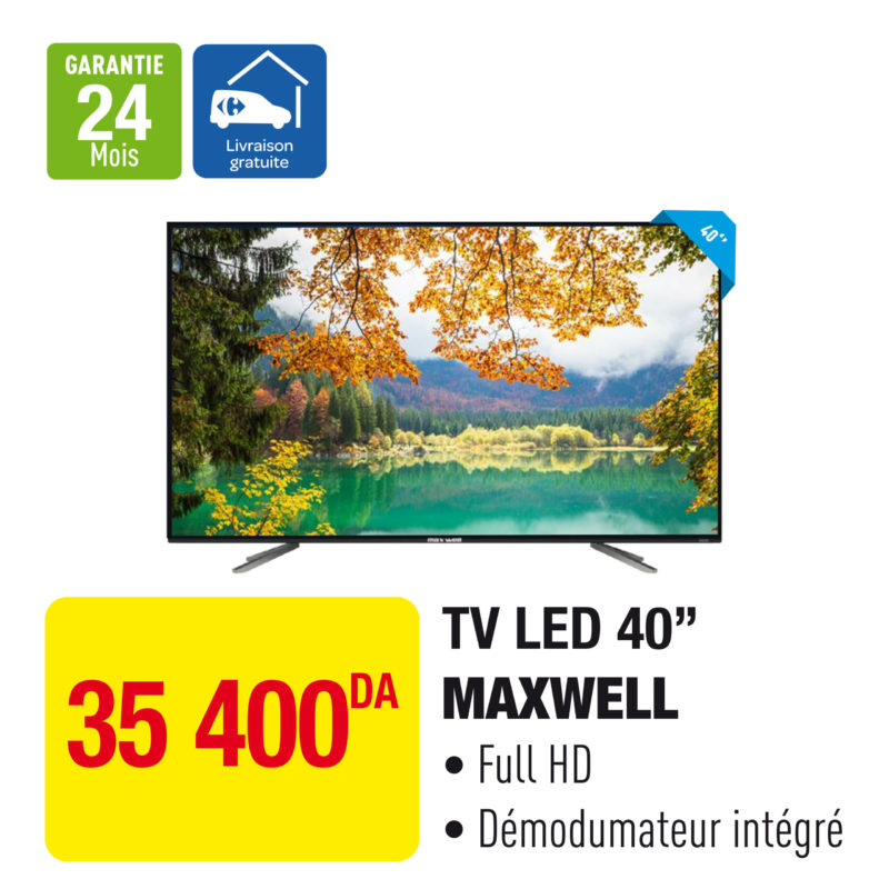 "TV LED 40"" MAXWELL"