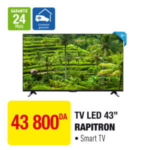 "TV LED 43"" RAPITRON"