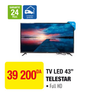 "TV LED 43"" TELESTAR"