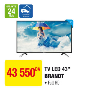 "TV LED 43"" BRANDT"
