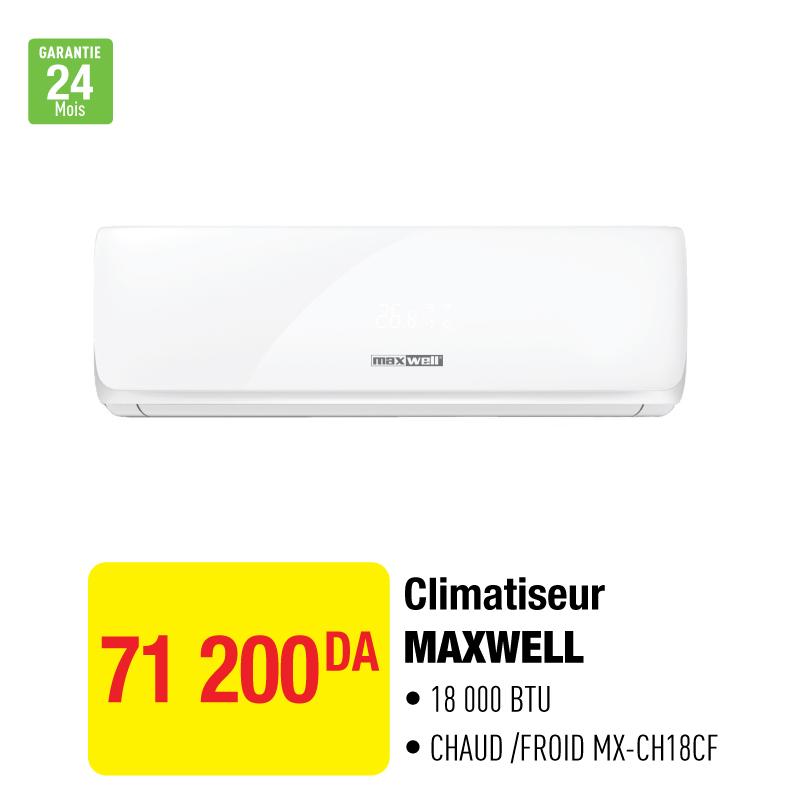 Climatiseur MAXWELL