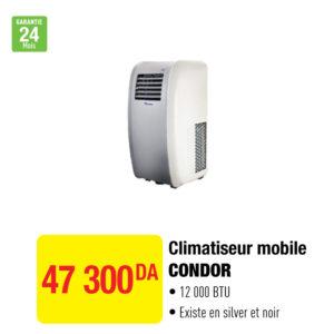Climatiseur mobile CONDOR
