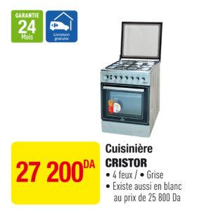 Cuisinière CRISTOR