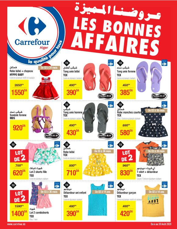 Catalogue Les Bonnes Affaires