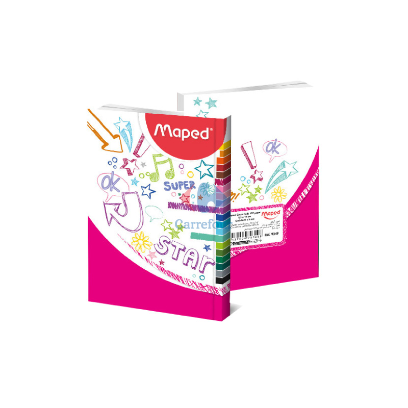 Carnet cousu colle MAPED 192 pages