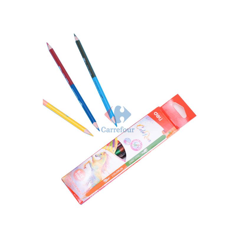 Crayons couleur DELI