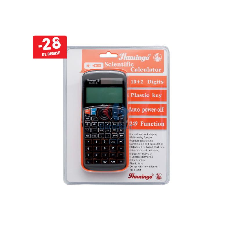 Calculatrice scientifique FLAMINGO